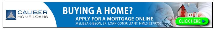 Banner Caliber Home Loans Melissa Gibson Sr. Loan Consultant
