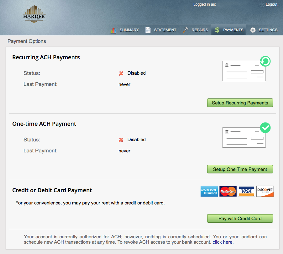 Screenshot Payment